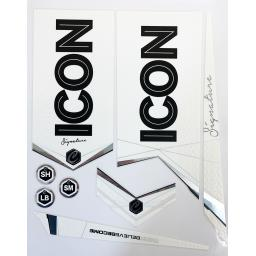 ICON Signature Bat Sticker Set