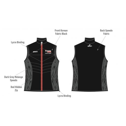 The Cricket Asylum Ultimate Academy Puffer Vest