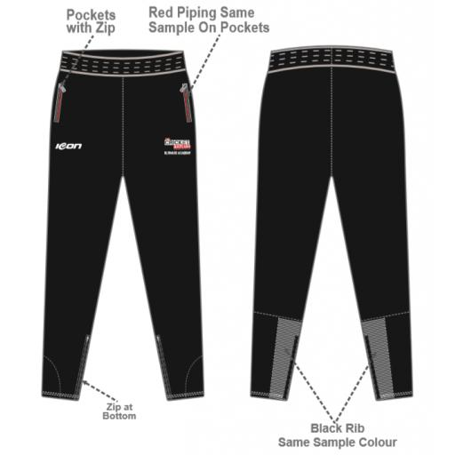 The Cricket Asylum Ultimate Academy SkinnyTrack Pants