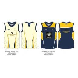 Walton-le-Dale CC Reversible Sweater - Sleeveless