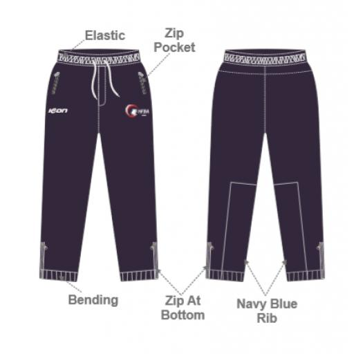 NFBA 'Players' Slim Fit Track Pants