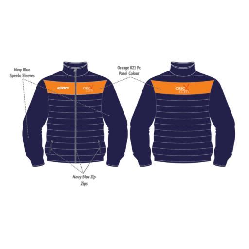 CricX Puffer Jacket