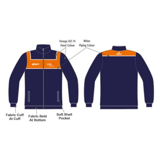 CricX Travel Jacket
