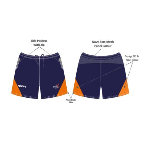 CricX Training Shorts