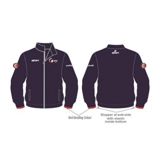 NFBA 'Players' Track Jacket - Full Zip