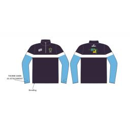 Greenfield CC 1/4 Zip Sublimated Training Top