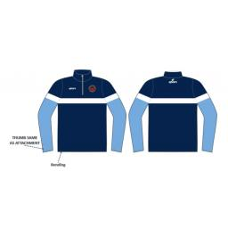 Unsworth CC 1/4 Zip Sublimated Training Top