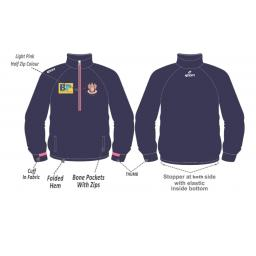Blackpool CC Robex 1/4 Zip Top