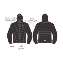 Atherton CC Puffer Jacket with Speedo Sleeve