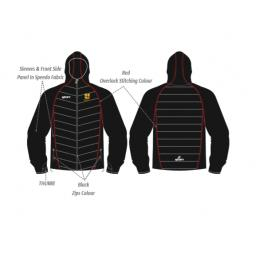 Bradford & Bingley CC Puffy Jacket/Speedo Sleeves