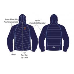 Unsworth CC Puffy Jacket/Speedo Sleeves
