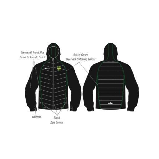 Shenley Fields SYS Puffy Jacket/Speedo Sleeves