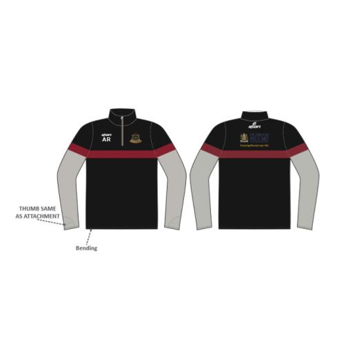 Werneth CC 1/4 Zip Sublimated Training Top