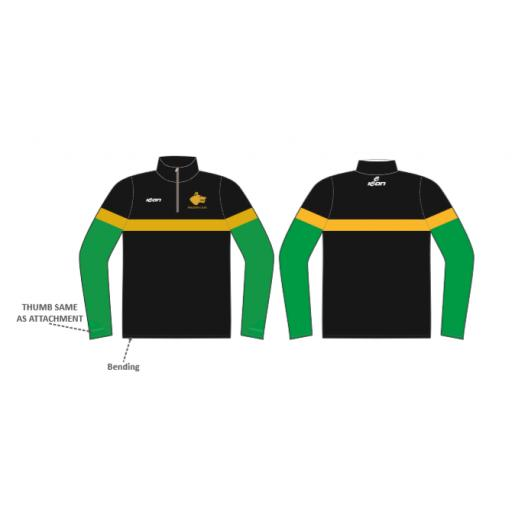 Walsden CC 1/4 Zip Sublimated Training Top