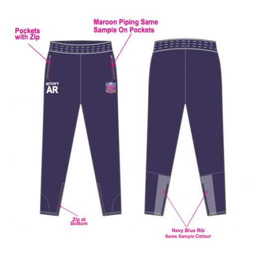 Monton Skinny Fit Track Pants