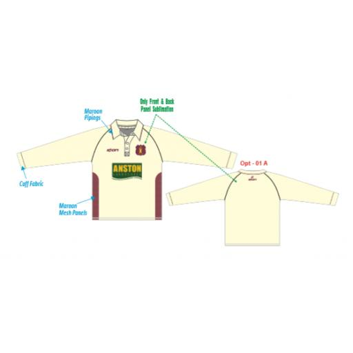Welton CC JUNIOR Playing Shirt - Long Sleeve