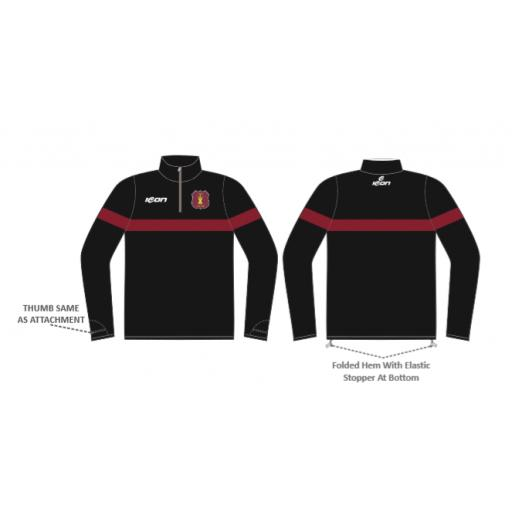 Welton C.C 1/4 Zip Sublimated Training Top