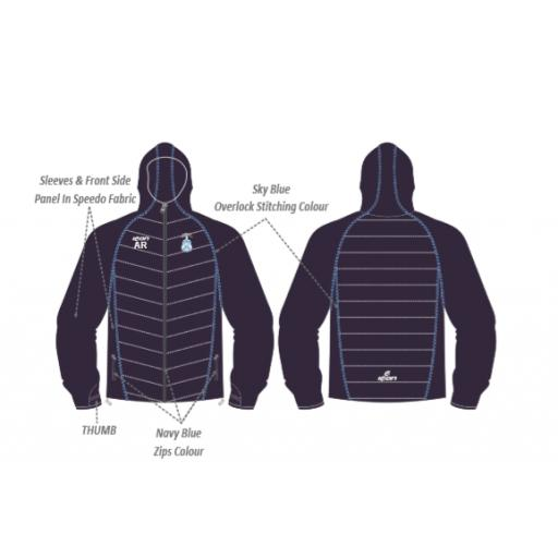 Firwood Bootle CC Puffy Jacket/Speedo Sleeves