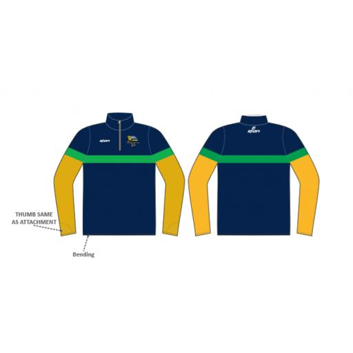 Knypersley CC 1/4 Zip Sublimated Training Top