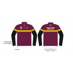 Sowerby Bridge CC 1/4 Zip Sublimated Training Top