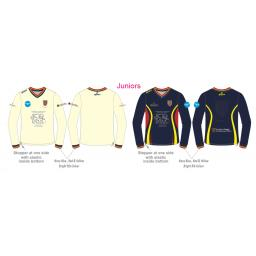 Formby CC Junior Reversible Sweater - Long Sleeve
