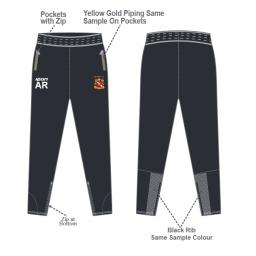 Elland CC Senior Skinny Fit Track Pants