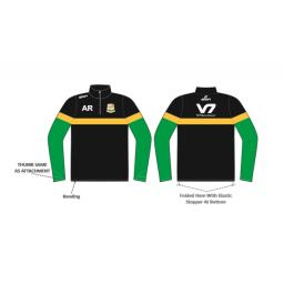 Shaw CC 1/4 Zip Sublimated Training Top