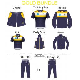 HEYWOOD CC TRAINING KIT BUNDLE - GOLD