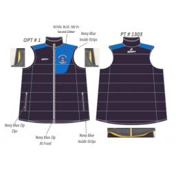 Great Harwood CC Puffer Vest