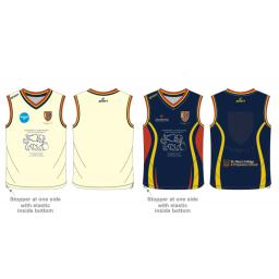 Formby CC Junior Reversible Sweater - Sleeveless