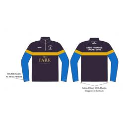 Great Harwood CC 1/4 Zip Sublimated Training Top