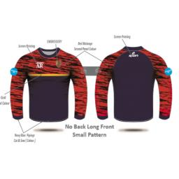 Formby CC Melange T-Shirt - Long Sleeve
