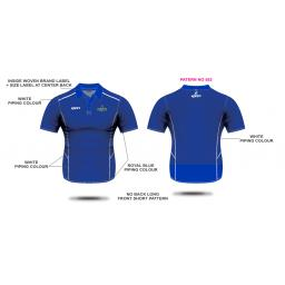 Alkrington Tennis Club Womens Polo Shirt - Blue