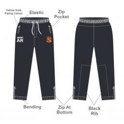 Elland CC Senior Slim Fit Track Pants