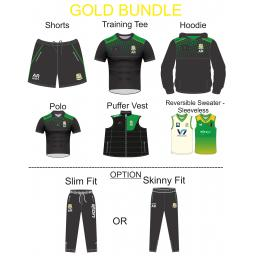 Shaw CC Gold Bespoke Bundle