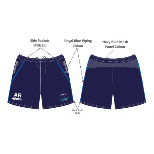 Bracebridge Heath CC Training Shorts