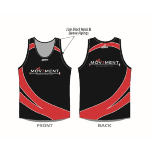 Mov3ment Full Sublimated Training Vest