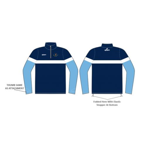 Norden CC 1/4 Zip Sublimated Top
