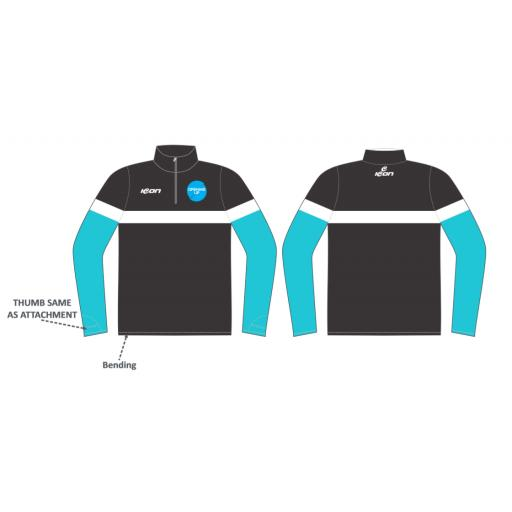 Opening Up 1/4 Zip Sublimated Training Top