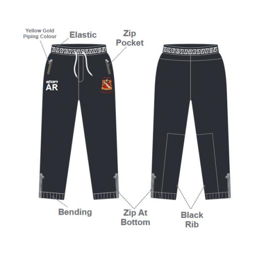 Elland CC Junior Slim Fit Track Pants