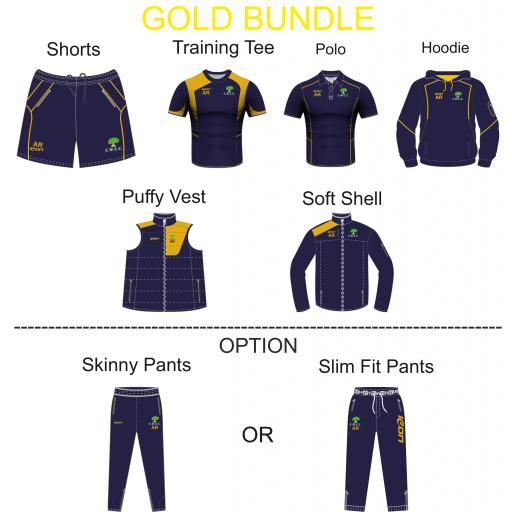 Colwyn Bay CC Gold Bundle