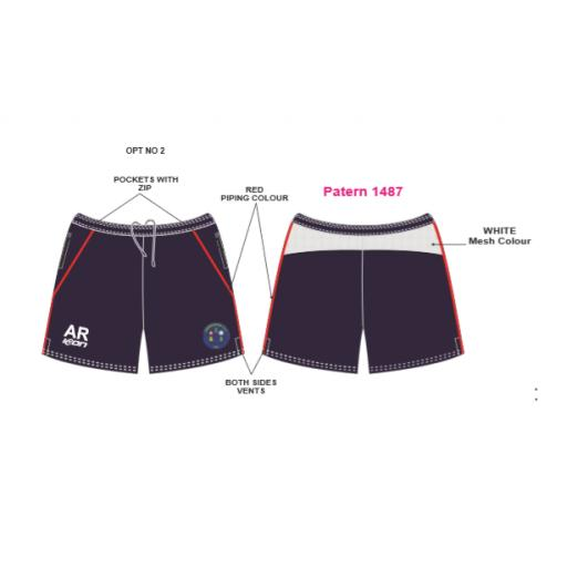 Springhead CC Training Shorts