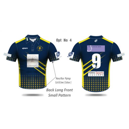 Farnworth Social Circle CC SENIOR T20 Shirt - Short Sleeve