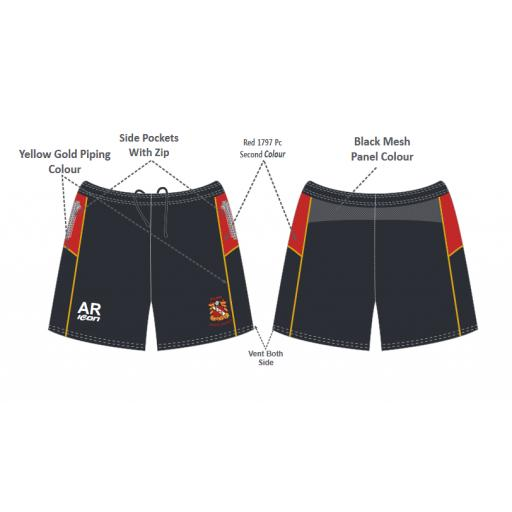 Elland CC Junior Training Shorts