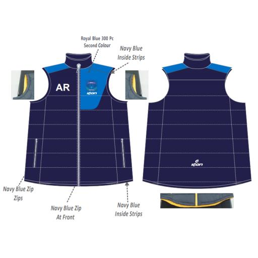 Bracebridge Heath CC Puffer Vest