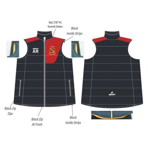 Elland CC Junior Puffer Vest