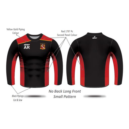 Elland CC Senior Training T-shirt - Long Sleeve