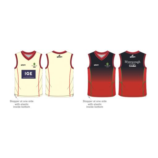 Myerscough Cricket (Manchester) Reversible Sweater - Sleeveless