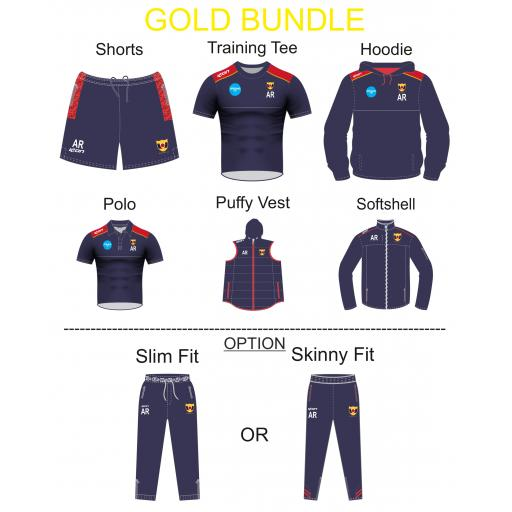 Maghull CC TRAINING KIT BUNDLE - GOLD