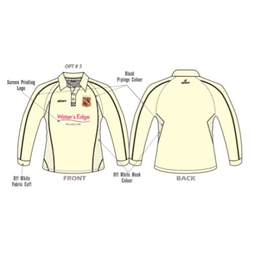 Elland CC Senior Playing Shirt - Long Sleeve